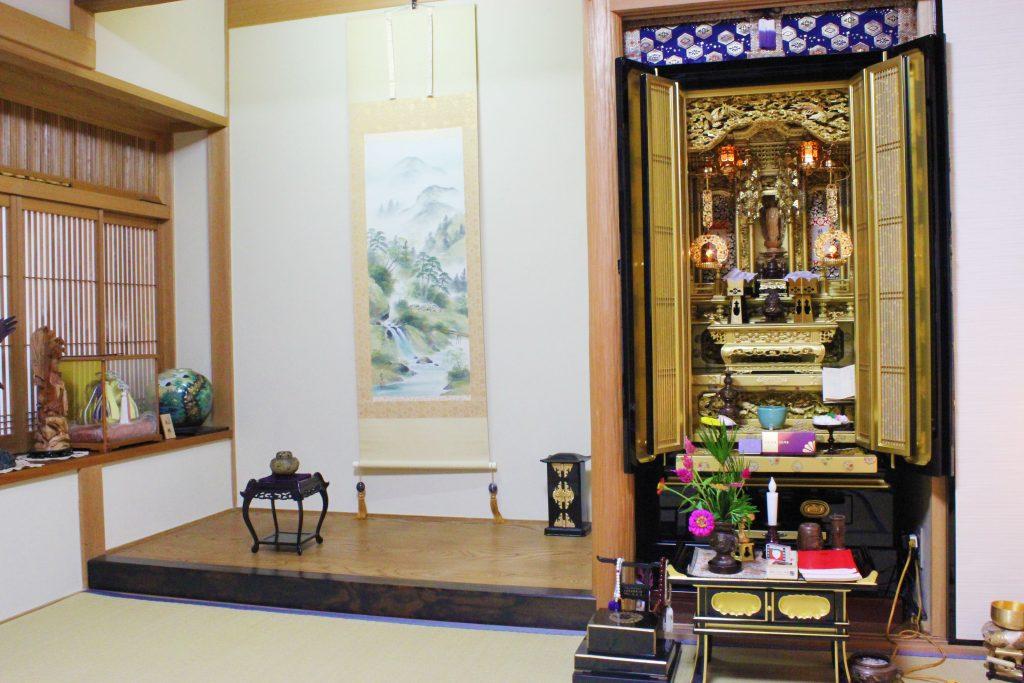 大阪府枚方市、吉田様より【一周忌法要】のご依頼をいただきました。